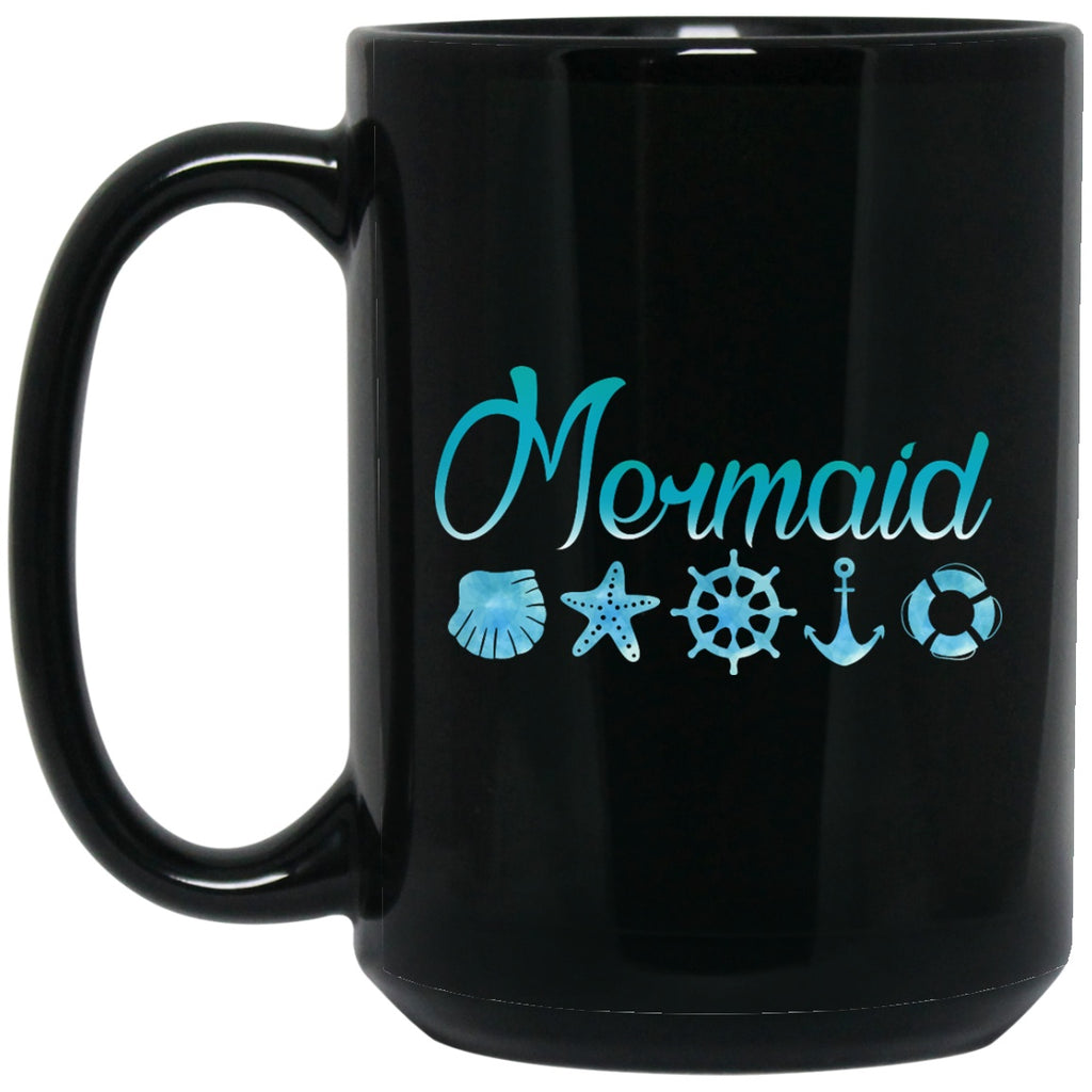 Mermaid Coffee Mug Pirate Mugs Gifts - GoneBold.gift