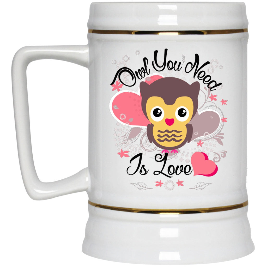 Owl You Need Is Love - Mugs and Bottles - GoneBold.gift