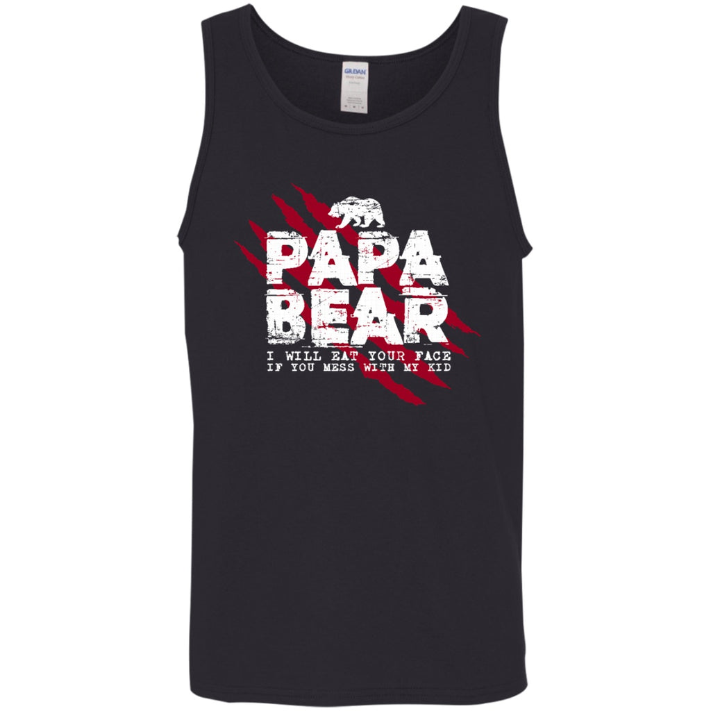 Papa Bear Don't Mess With My Kid Shirts - GoneBold.gift