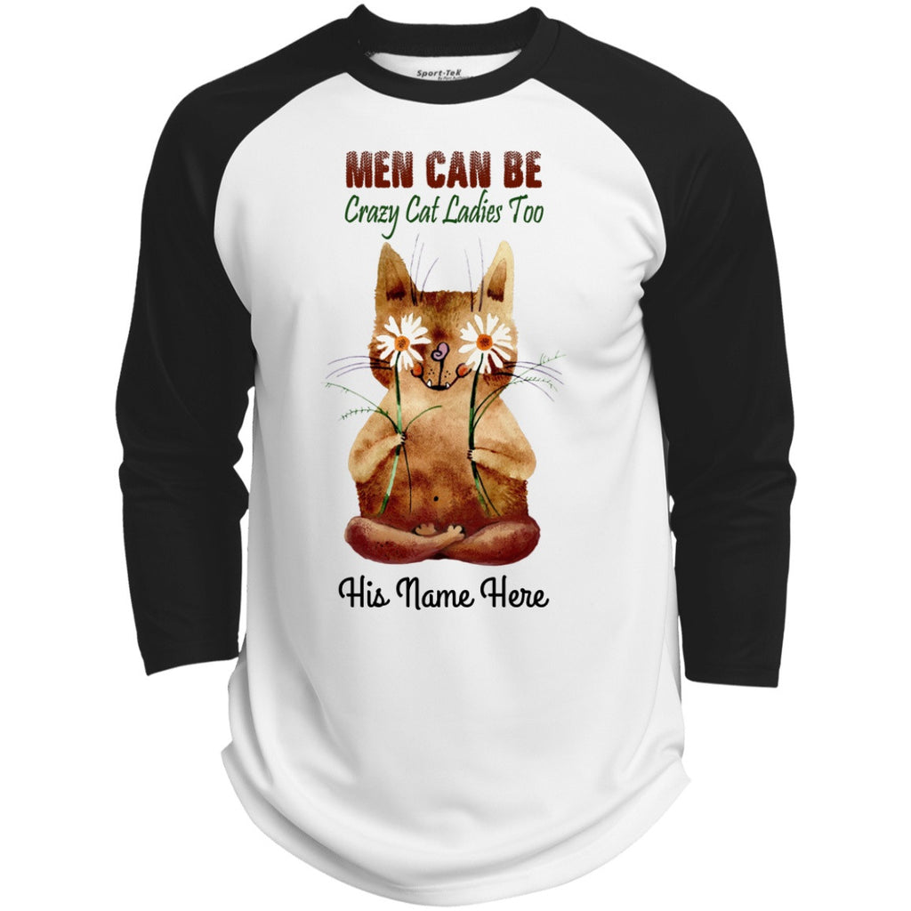 Personalized Men Can Be Crazy Cat Ladies Too Shirts - GoneBold.gift
