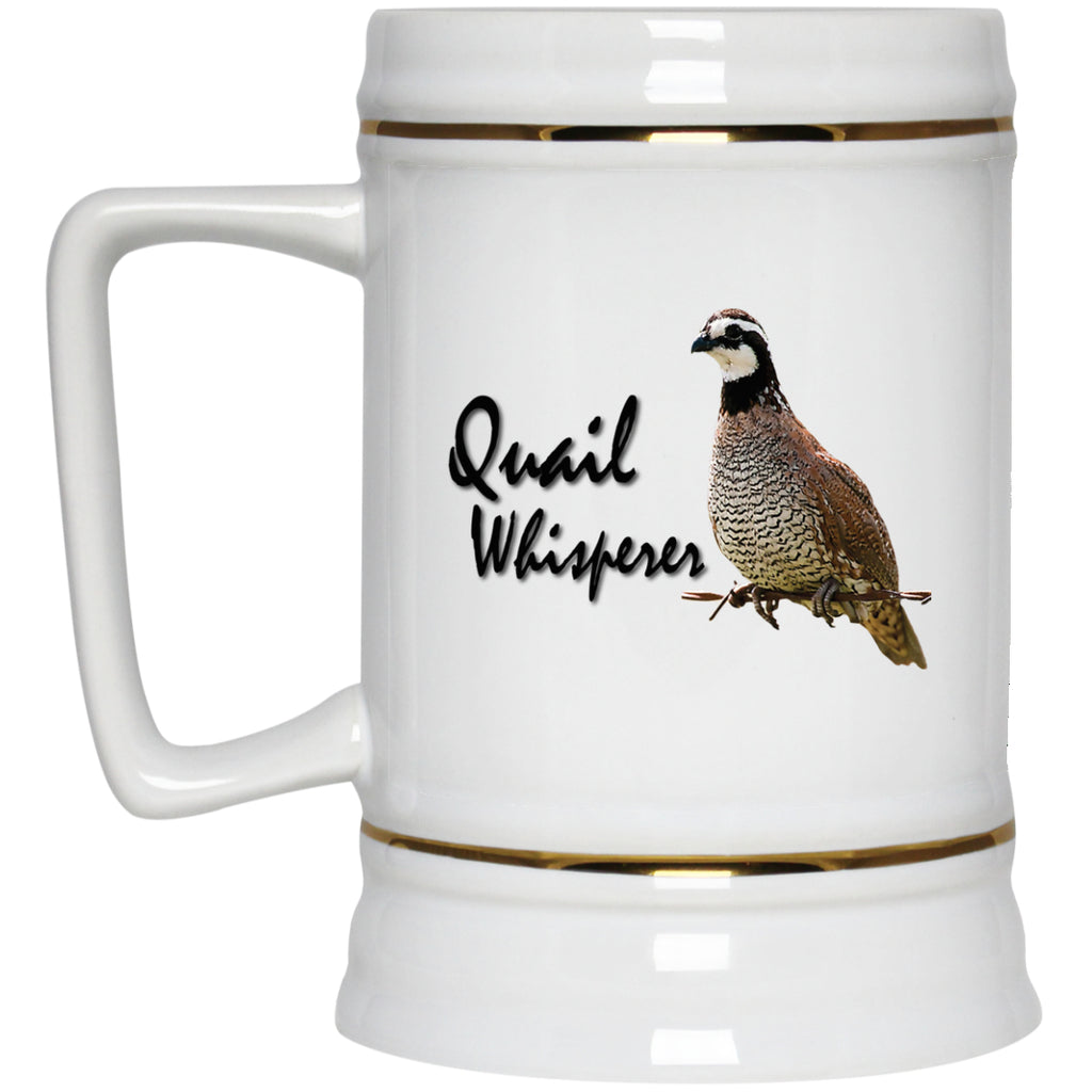Quail Whisperer - Bobwhite Quail Mugs and Bottles - GoneBold.gift