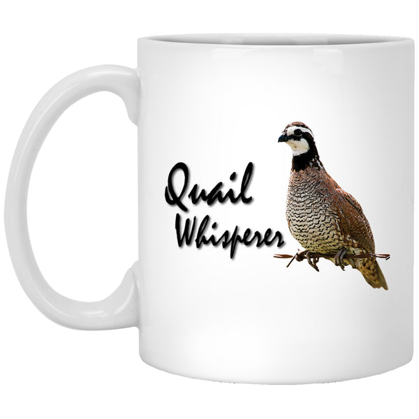 Quail Whisperer - Bobwhite Quail Mugs and Bottles