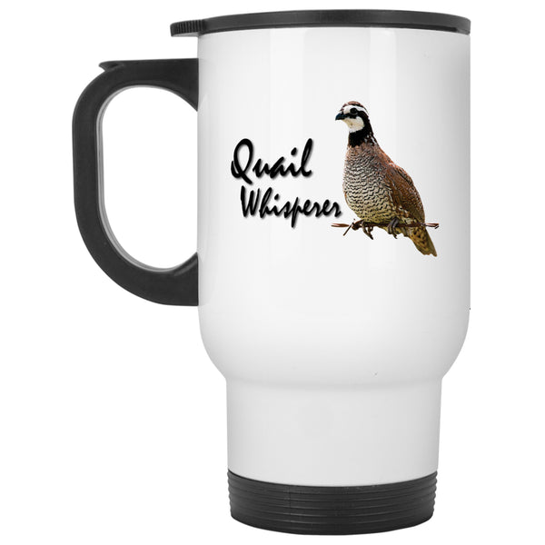 Apparel - Quail Whisperer - Bobwhite Quail Mugs And Bottles