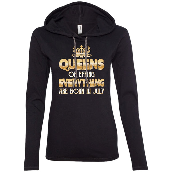Apparel - Queens Of Effing Everything Are Born In July Funny Birthday Shirts For Women