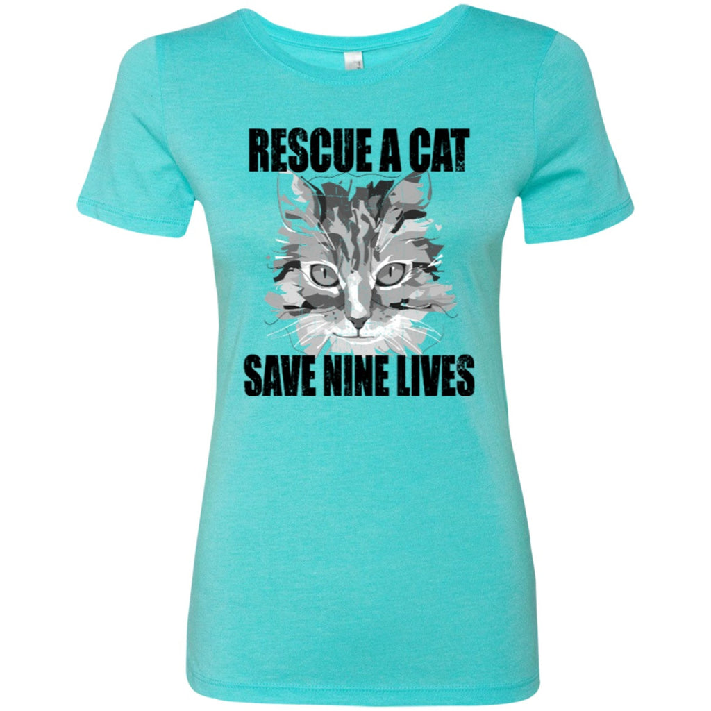 Rescue A Cat Save Nine Lives T-shirts - GoneBold.gift