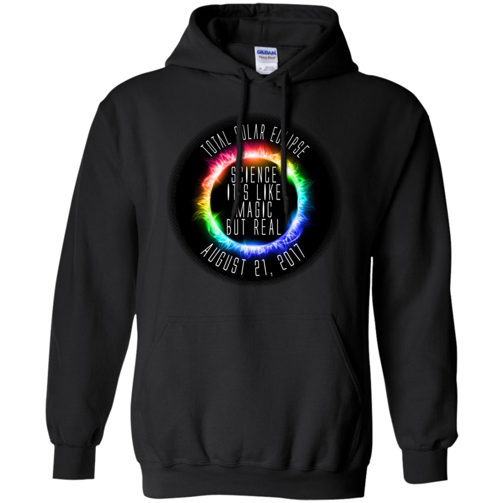 Solar Eclipse Hoodies Unisex -  Science Is Like Magic - GoneBold.gift