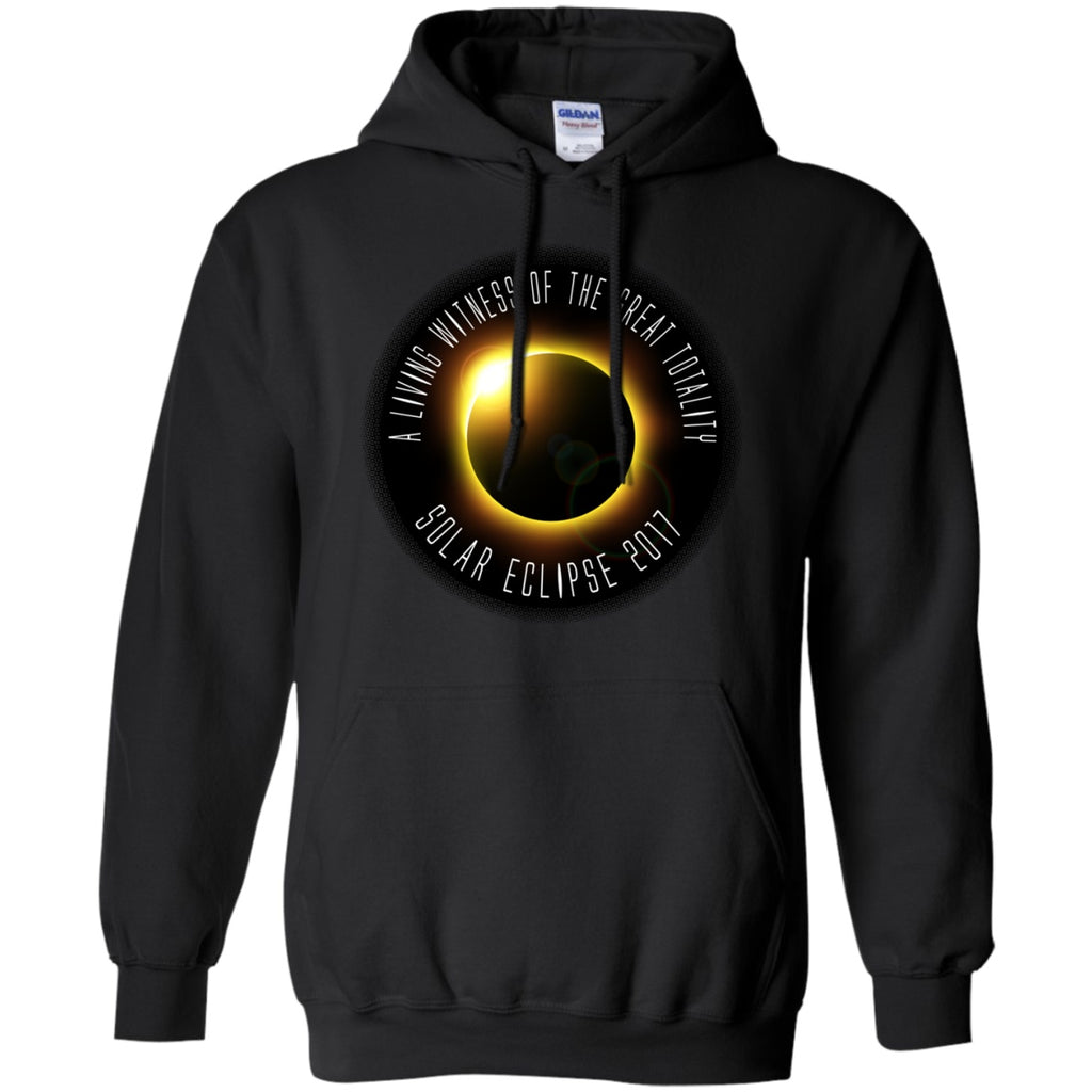Solar Eclipse Hoodies Unisex -  Witness Golden Eclipse - GoneBold.gift