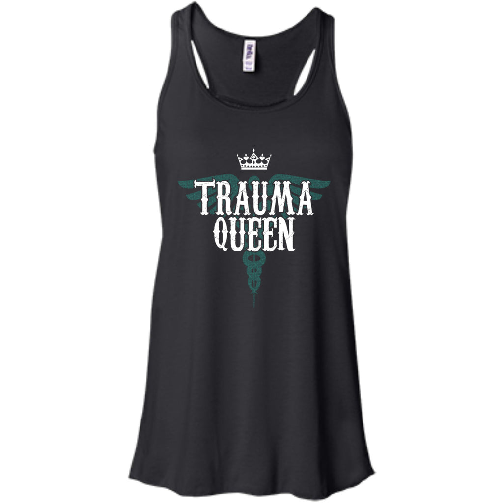 Trauma Queen Nurse Medic Shirts and Tanks - GoneBold.gift