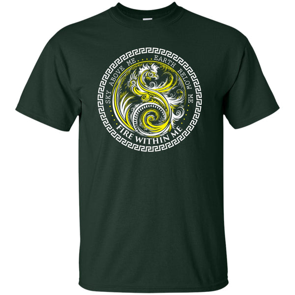 Yin Yang Yellow Dragon Swirl - Women's Tees and Tanks - GoneBold.gift
