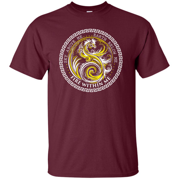 Yin Yang Yellow Dragon Swirl - Women's Tees and Tanks - GoneBold.gift - 5