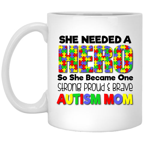 Autism Mom - Hero -  Mugs & Gifts - GoneBold.gift