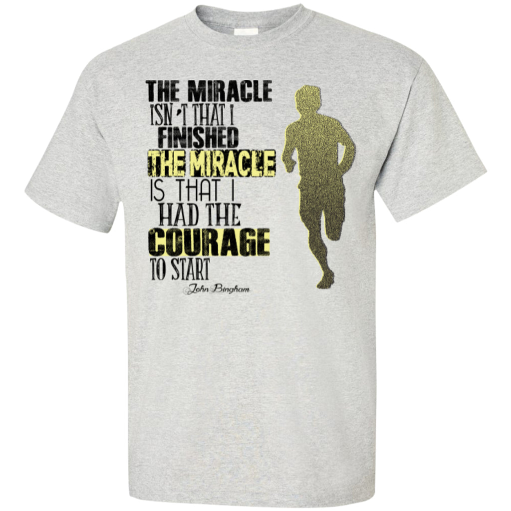COURAGE TO START - Custom Ultra Cotton T-Shirt - GoneBold.gift
