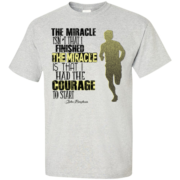 COURAGE TO START - Custom Ultra Cotton T-Shirt