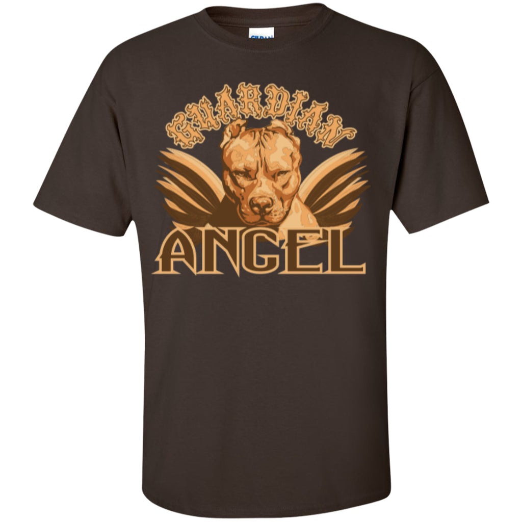 Guardian Angel Pit - Custom Ultra Cotton T-Shirt - GoneBold.gift