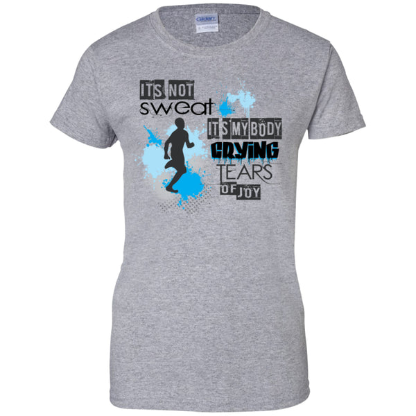IT'S MY BODY CRYING - Ladies Custom 100% Cotton T-Shirt
