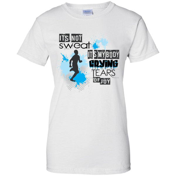 IT'S MY BODY CRYING - Ladies Custom 100% Cotton T-Shirt -  - 3