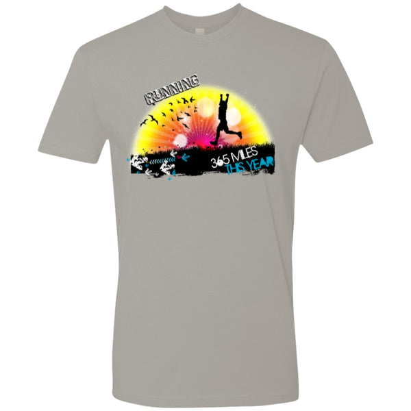 RUN 365 MILES - Next Level Premium Short Sleeve Tee -  - 3