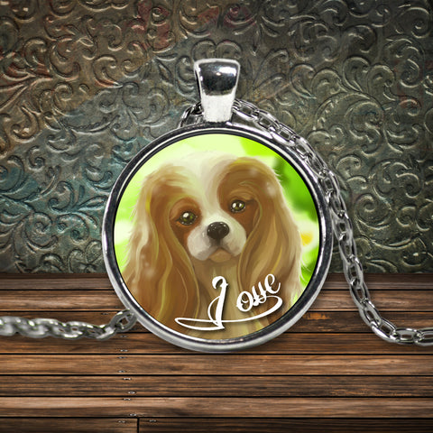 Cavalier King Charles Spaniel Necklace - GoneBold.gift