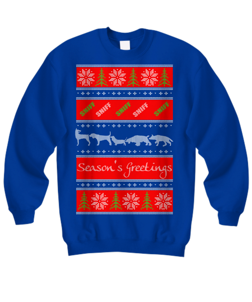 Season's Greetings Dog Lovers Sweater - GoneBold.gift