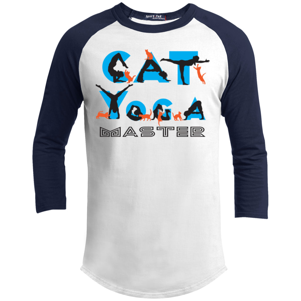 CAT YOGA MASTER -  Sporty Tee Shirt - GoneBold.gift