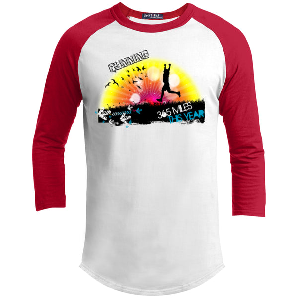 RUN 365 MILES - Sporty Tee Shirt - GoneBold.gift