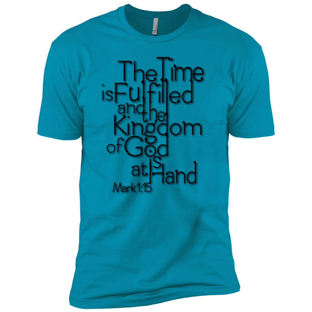 The Time Is FulfilledNext Level Premium Short Sleeve Tee - GoneBold.gift