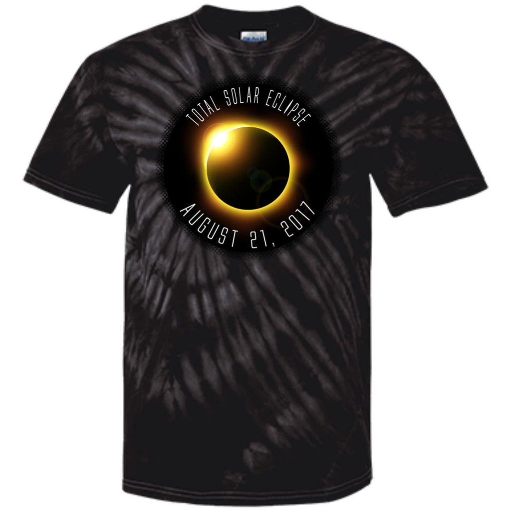 Total Solar Eclipse 2017 100% Cotton Tie Dye T-Shirt - GoneBold.gift