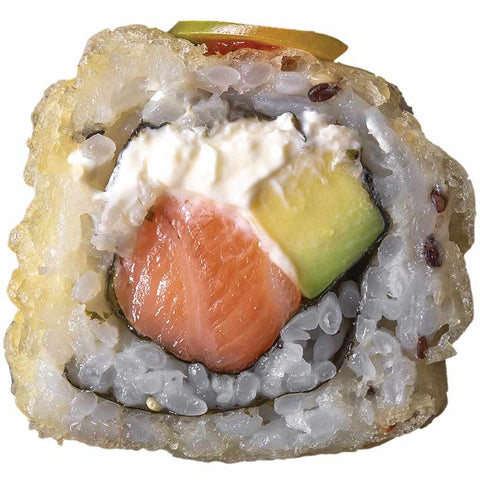 Sushi Fried Salmon Philly