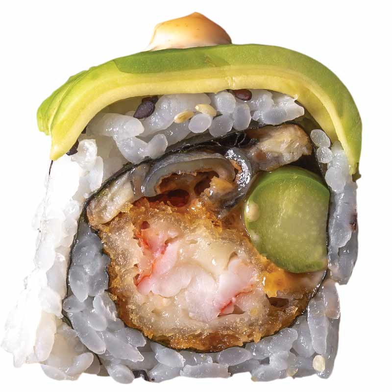 Sushi Unaghi Dragon Roll - Specials
