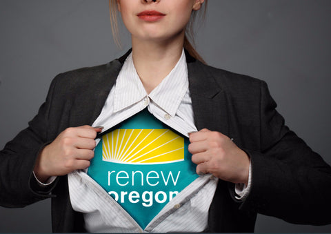 Unleash Your Inner Climate Hero! Renew Oregon T-Shirts