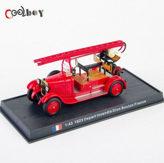 Dion Bouton France Diecast Fire Truck Model Bombeiros Do Brinquedo Collection 1/43 Fire Truck Toy Vehicles 1923 Depart Incendie