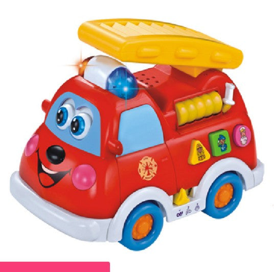Department of music 526 fire truck voice child educational toys early childhood 1YEAR electronic toys
