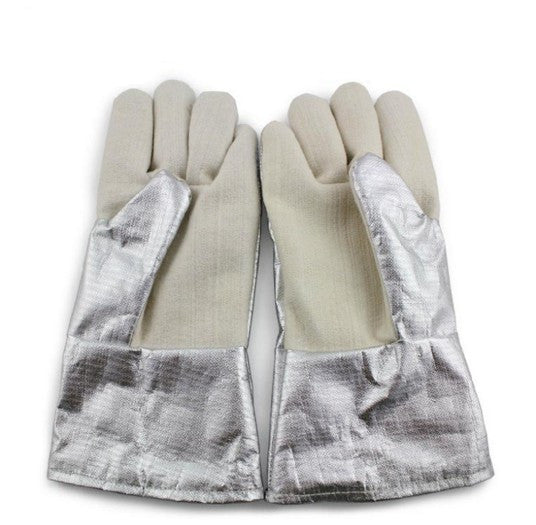 High temperature fire Gloves 300-400 degree industrial heating gloves