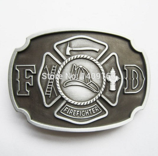 Gurtelschnalle Boucle de ceinture Men Belt Buckle (Firefighter)