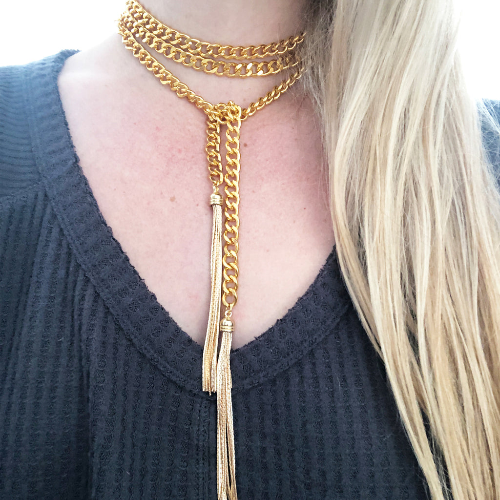 Calixta Wrap Necklace
