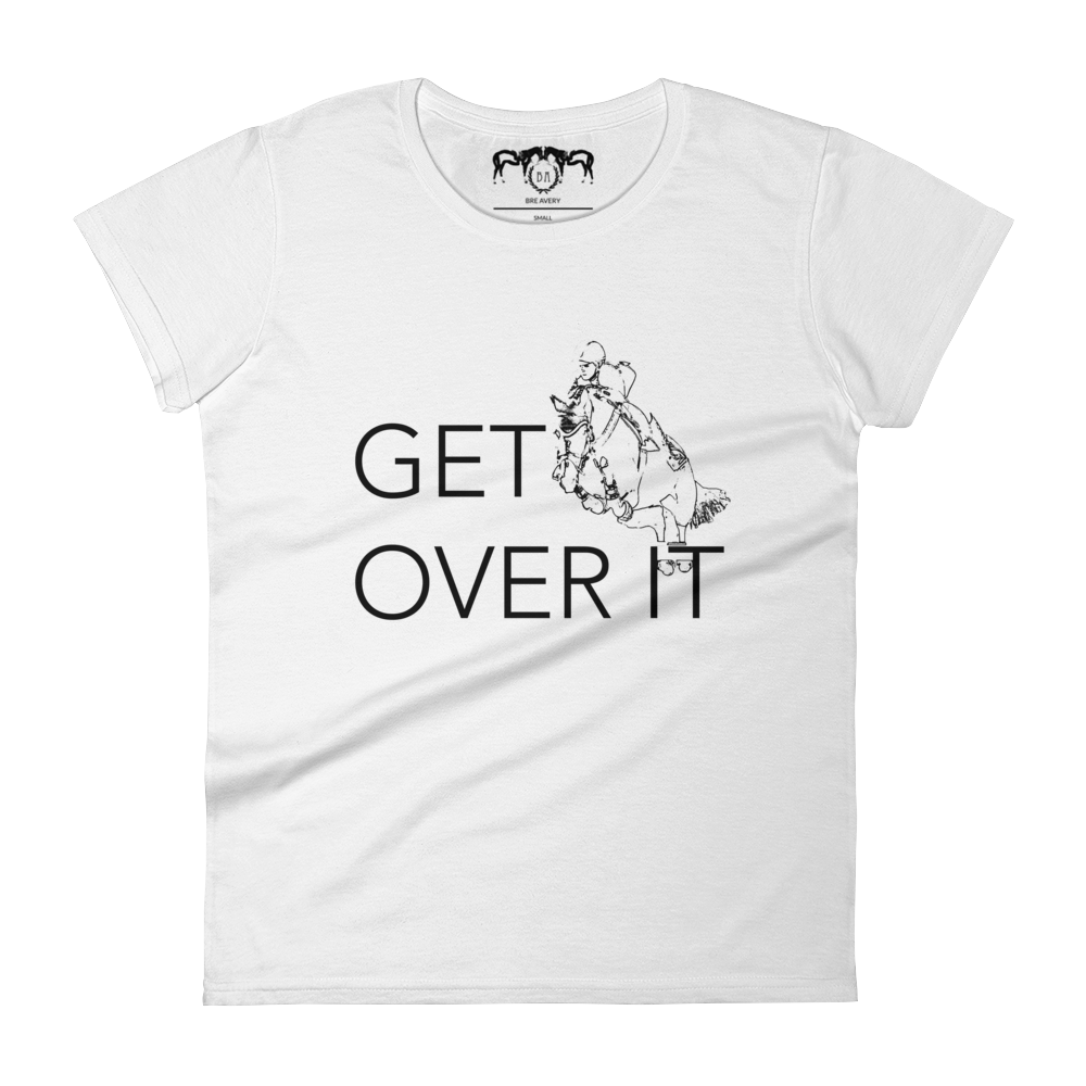 Get Over It White Tee