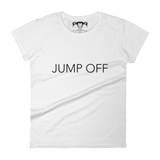 Jump Off White Tee