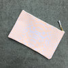 Logan Peachy Zip Clutch