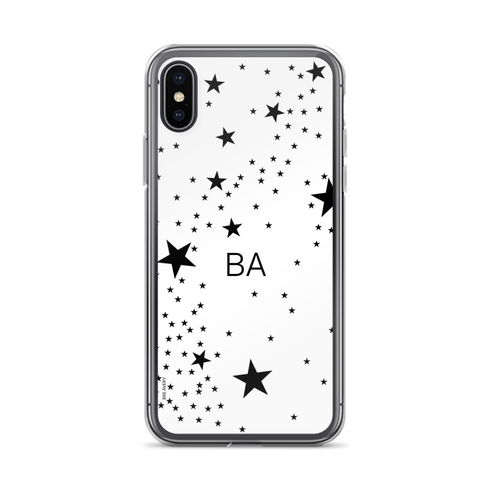 b0abdcb6bc551 Stars Monogram iPhone X Case