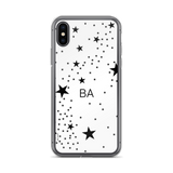 Stars Monogram iPhone X Case