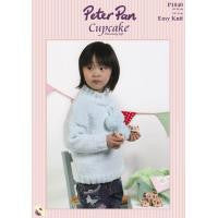 Peter Pan Cupcake Easy Knit pattern P1040