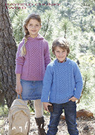 Sirdar Childrens Knitting Pattern - 2444