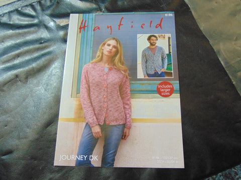 Hayfield Journey Double Knitting Pattern 8186