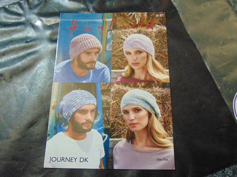 Hayfield Journey Double Knitting Pattern 8187