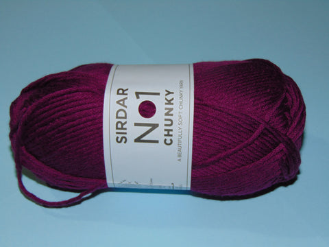 Sirdar No 1 Chunky Knitting Yarn