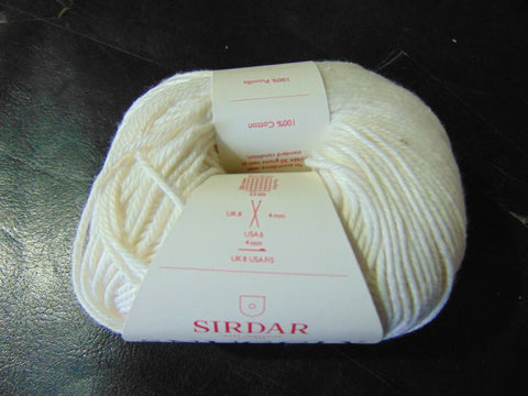 Sirdar Snuggly 100% Cotton Double Knitting Yarn 50g Ball