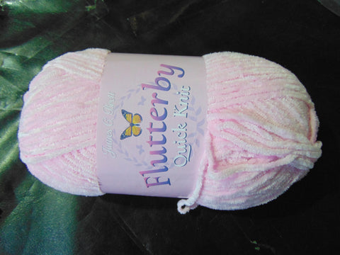 James C Brett Flutterby Quick Knit Polyester Yarn