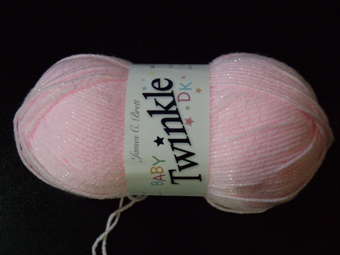 James C Brett Baby Twinkle Double Knitting Yarn 100g Ball