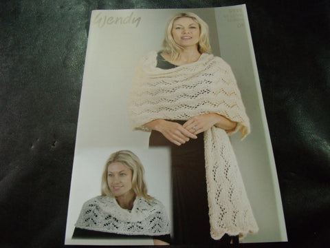 Wendy Celeste Shoulder warmer and Wrap Pattern 5919