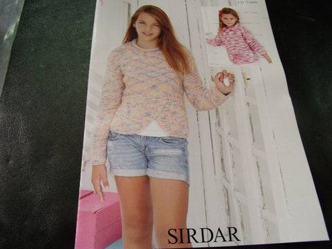 Sirdar Childrens Knitting Pattern - 2465 - Snuggly Jolly Yarn